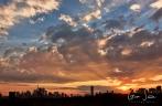 Sunset on October 12, 2016. V