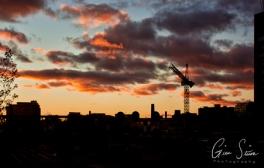 Sunset on October 22, 2016. IV