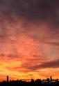 Sunset on November 1, 2016. II