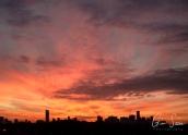 Sunset on November 1, 2016. III