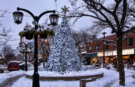 Alexander's Square in Winter