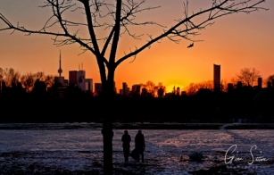 Sunset on January 1, 2017. IV