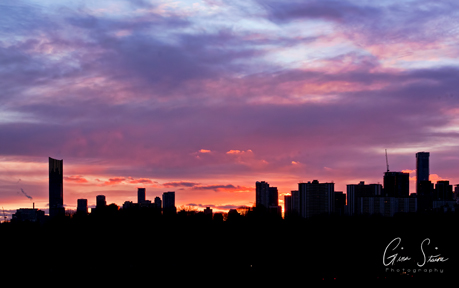 Sunset on March 2, 2017. VIII