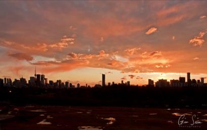 Sunset on March 8, 2017. Part I I