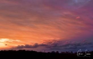 Sunset on March 8, 2017. Part I V