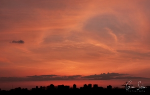Sunset on April 11, 2017. VII
