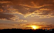 Sunset on May 30, 2017. II