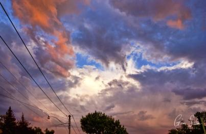 Sunset on May 30, 2017. III