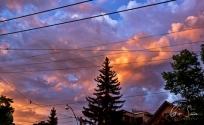 Sunset on May 30, 2017. VI