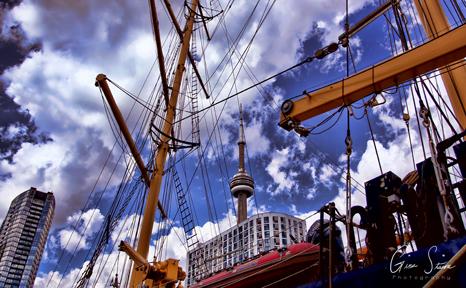 Toronto Harbourfront on July 2, 2017. I