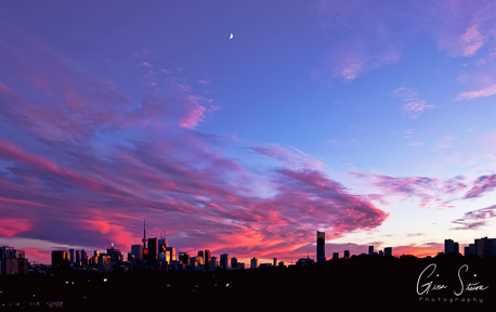 Sunset on July 28, 2017. III