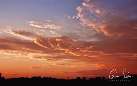 Sunset on October 7th, 2017. III