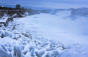 Frozen Niagara on January 7, 2018. VII