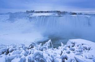 Frozen Niagara on January 7, 2018. VIII