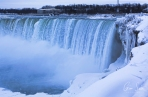 Frozen Niagara on January 7, 2018. XIII