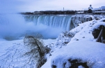 Frozen Niagara on January 7, 2018. XIV