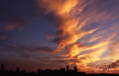 Sunset on June 20th, 2018. I
